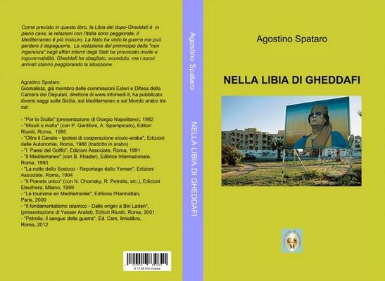 Резултат с изображение за nella libiadi gheddafi di agostino spataro
