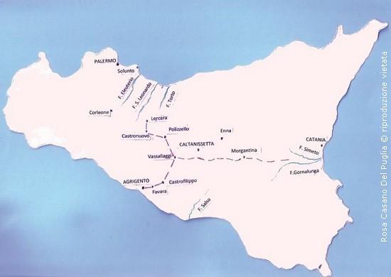 Cartina Sicilia Antica.La Rete Viaria Nella Sicilia Greca