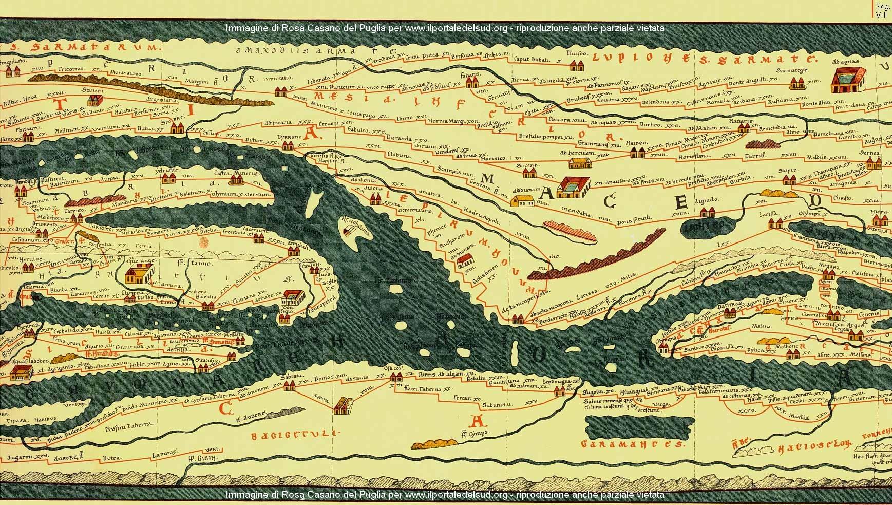 Sicilia Occidentale Cartina Stradale.La Rete Viaria Nella Sicilia Romana